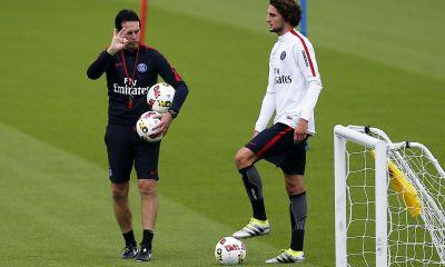 """Emery: """"Rabiot est le présent et l'avenir du club"""" et Meunier """"nous sommes très contents"""""""