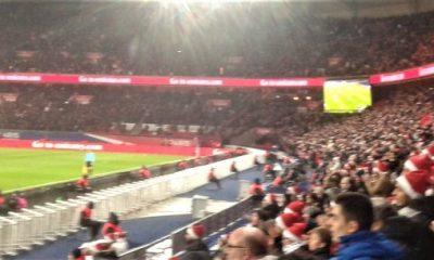 PSG/Lorient Vu du Parc: Les supporters parisiens étaient débout avant le but de Lucas