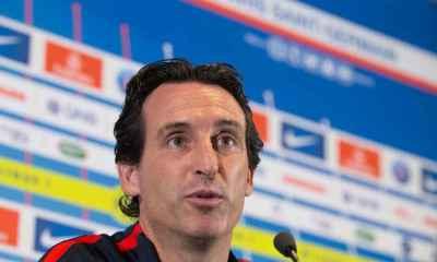 """PSG/Barça - Emery """"C'est une belle confrontation, au niveau de ce que souhaitait le PSG"""""""