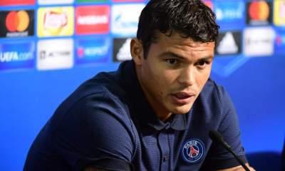 """Thiago Silva """"Une honte? Jamais....Bien au contraire. Nous sommes des joueurs de caractère"""""""