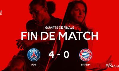 Féminines - Le PSG écrase le Bayern Munich et se qualifie en demi-finale de Ligue des Champions