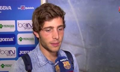 Roberto « tout ce qui s'est passé ce soir est incroyable »