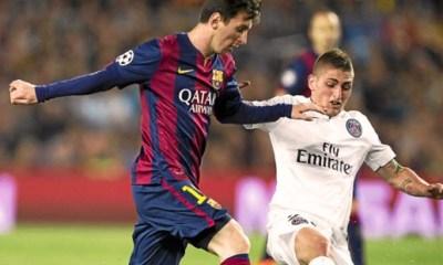 Mercato - Messi ne voudrait pas de Verratti