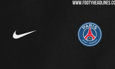 Le maillot third du PSG sur la saison 2017-2018 devrait être noir