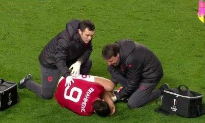Terrible blessure pour Zlatan Ibrahimovic, rupture des ligaments croisés évoquée
