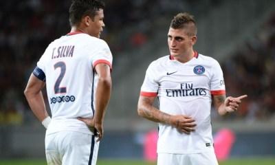 Angers/PSG - Le groupe parisien avec Verratti et Thiago Silva, Ben Arfa de côté