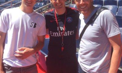 Damien Ott, entraîneur de l'US Avranches, a été invité par Unai Emery à l'entraînement du PSG