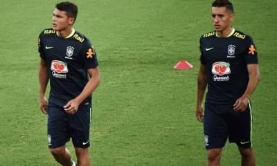 Thiago Silva sélectionné avec le Brésil, Marquinhos laissé au repos et Lucas toujours de côté