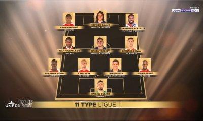 UNFP - 3 joueurs du PSG dans l'équipe-type de Ligue 1 cette saison