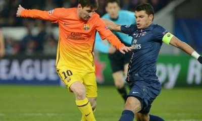 """Thiago Silva """"Messi ? Il ne sera pas question de PSG-Barcelone, mais du match entre le Brésil-l'Argentine"""""""
