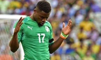 Aurier répond à Ousmane Viera par l'intermédiaire de son compte Instagram