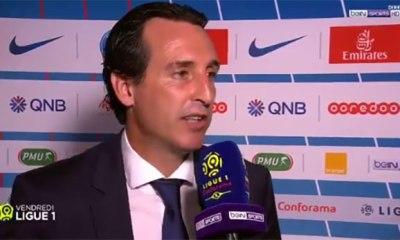 """Emery """"Ce match nous donne beaucoup d'informations pour nous améliorer"""""""