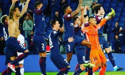 Les images du PSG : célébrations de la victoire contre l'OL !