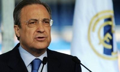 """Florentino Pérez se plaint de ceux qui copient le """"modèle"""" du Real Madrid et des pays """"propriétaires"""""""