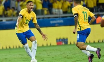 Mercato - Neymar tenterait de convaincre Philippe Coutinho de signer au PSG, selon Sport