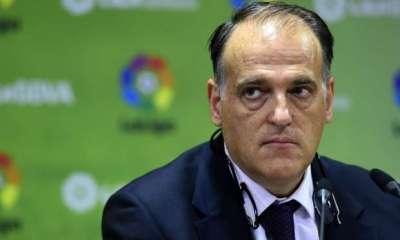 """Le PSG commente les attaques de Tebas """"Nous sommes profondément navrés pour lui"""""""