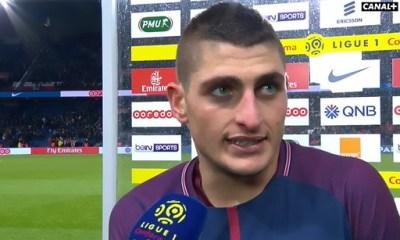 """PSG/Troyes - Verratti """"Ce n'était pas facile face une équipe bien organisée. C'est une victoire très importante"""""""