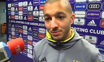 """PSG/Anderlecht - Hanni """"on a marqué zéro but et on en a encaissé beaucoup trop"""""""