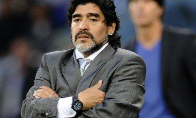 """Maradona confie qu'il n'est pas """"satisfait"""" du PSG et qu'il a conseillé Mbappé au Real Madrid"""