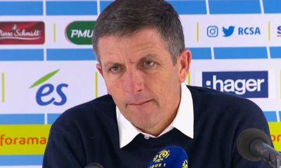 """Strasbourg/PSG - Thierry Laurey """"soi-disant Paris n'a pas été bon..."""""""