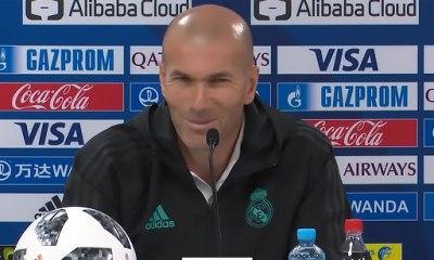 """Real/PSG - Zidane """"On va revenir encore plus forts"""""""