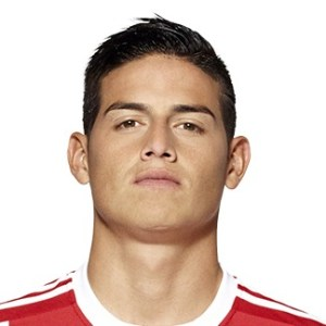 James Rodriguez milieu de terrain Bayern Munich