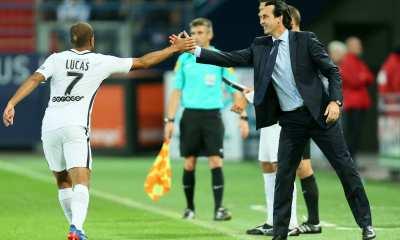 """Emery """"C'est normal que Neymar défende Lucas...Je lui souhaite le meilleur"""""""