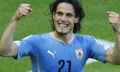 Edinson Cavani buteur, et pas n'importe comment, lors de la victoire de l'Uruguay contre la République Tchèque