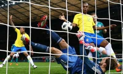 Le Brésil s'impose contre l'Allemagne, Dani Alves et Thiago Silva intéressants, Draxler et Trapp décevants