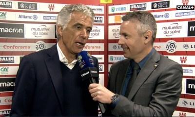 """Nice/PSG - Rivère """"j'espère que ça a fait une bonne promo...notre football est en retard"""""""