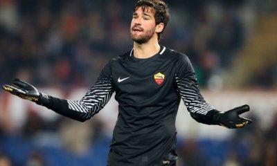 "Mercato - Alisson Becker ""il y a 0 chance qu'il parte"", affirme l'AS Rome"
