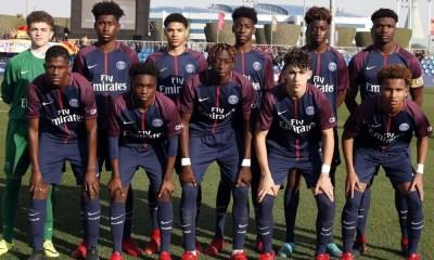 Les U17 du PSG parisiens qualifiés pour les Playoffs