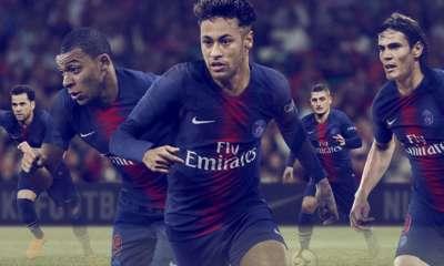 Le PSG présente son maillot domicile 2018-2019 et indique sa mise en vente