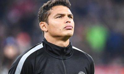 """Thiago Silva """"Peut-être que je finirais ma carrière à l'AC Milan"""""""