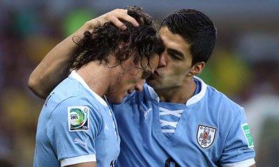 FranceUruguay - Suarez Cavani va tout faire pour pouvoir être là. Mais on a déjà joué sans lui