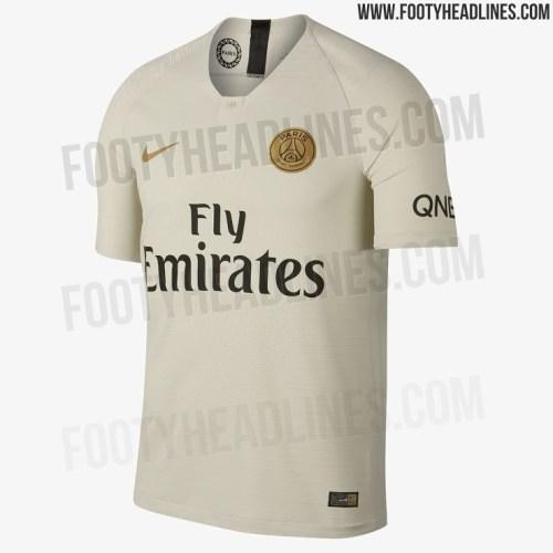 Les images du maillot extérieur du PSG 2018/2019 au complet