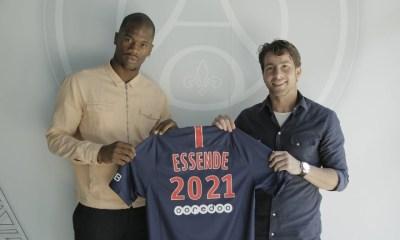 Le PSG prête Samuel Essende au KAS Eupen, c'est officiel !
