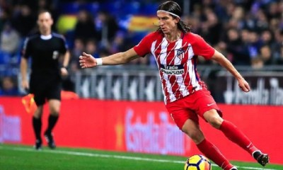 Mercato - Le président de l'Atlético de Madrid affirme qu'il n'a pas d'offre pour Filipe Luis et qu'il veut le garder