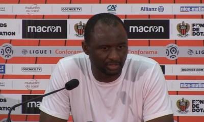 """Nice/PSG - Vieira: """"Ils ont donné le meilleur d'eux-mêmes mais ça n'a pas suffit !"""""""