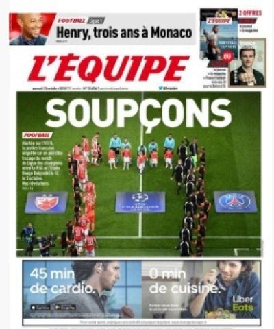 Julien Cazarre s'en prend à L'Equipe après son article sur le soupçon de match truqué, notamment la Une