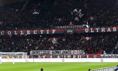 PSG/Guingamp - Vu du Parc : Une banderole appréciée, le match et l'arbitre un peu moins