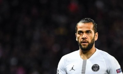 Dani Alves a été cambriolé durant la victoire du PSG contre Montpellier, indique L'Equipe