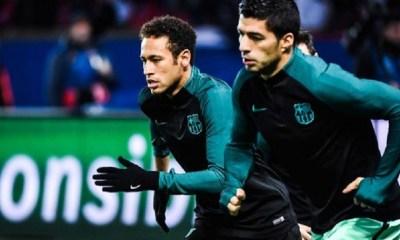 Suarez Neymar s'amuse énormément à Paris....Son retour à Barcelone, c'est hypothétique