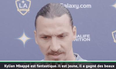 Kylian Mbappé reçoit les louanges de Zlatan Ibrahimovic, qui lui glisse un conseil