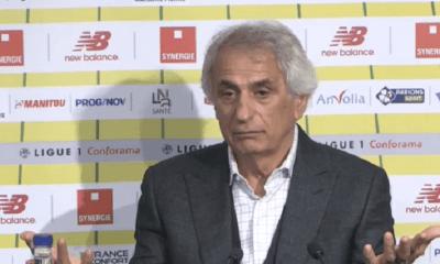 """Nantes/PSG - Halilhodzic """"Ils seront vexés et devront réagir...Il ne faut surtout pas se relâcher"""""""