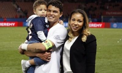"""La femme de Thiago Silva s'exprime sur """"l'insécurité"""" ressentie à Paris"""