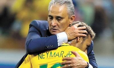 Tite + Neymar - Brésil