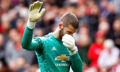 Mercato - Manchester United prêt à donner 22 millions d'euros à De Gea s'il part au PSG cet été, selon The Sun