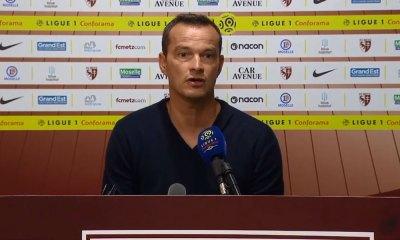 """Metz/PSG - Hognon """"J'ai vu un FC Metz très valeureux, on a plutôt bien défendu mais il nous a manqué un peu de réussite."""""""