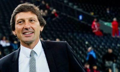 Mercato - Leonardo a voyagé en Italie pour Dybala et Matuidi, selon RAC 1